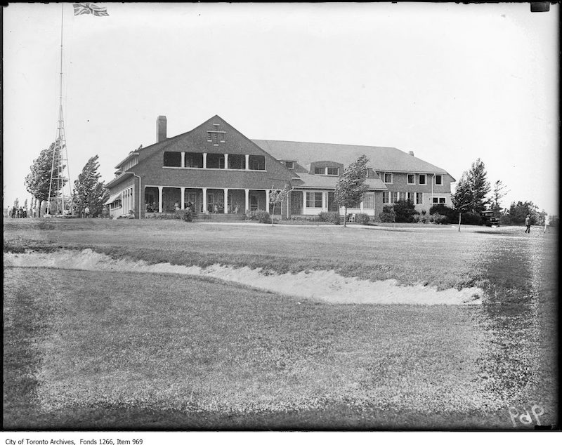 1923 - June 25 - Lakeview Golf Club, club-house