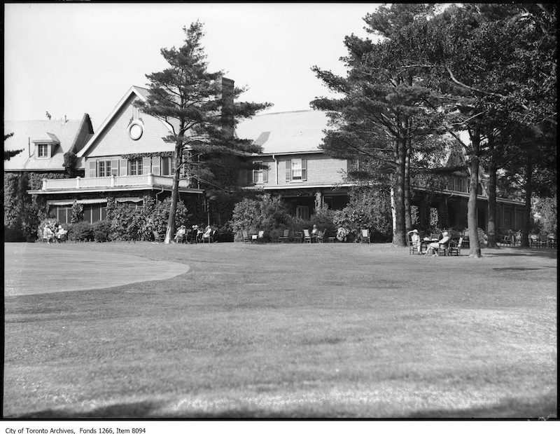 1926 - June 24 - Toronto Golf, clubhouse