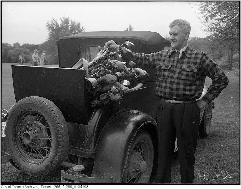 1949 - MY 22 - Toronto Ladies' Golf 25th Anniversary, Matt Brown president