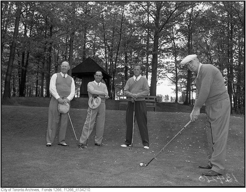 1949 - MY 30 - St.George Golf, Rick Young, Gord [Beydson], Bob Gray, Bob Cunningham