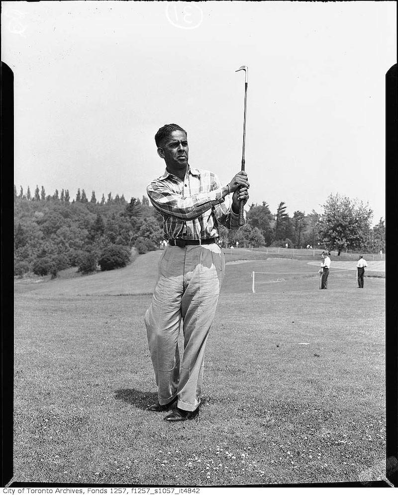 1950? - Golfer 2
