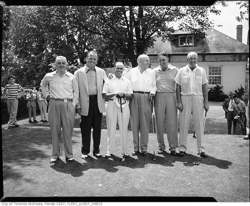 1956? - Unidentified golf group