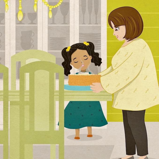 Author Medea Kalantar and sweet life lessons through Honeycake