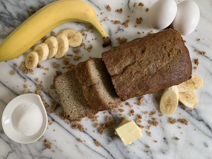 The Dessert Lady Banana Loaf Recipe