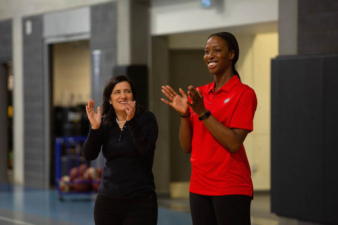 Tangerine Empowers Girls with Sport, Wellness and Powerful Role Models