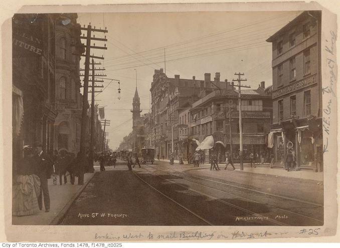 1885 - 1895 - King St. W., Toronto