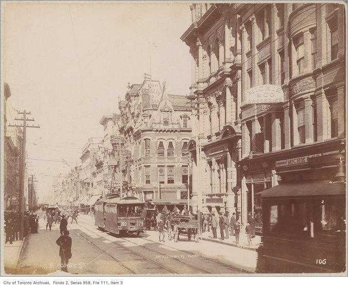 1890? - Yonge Street and King Street