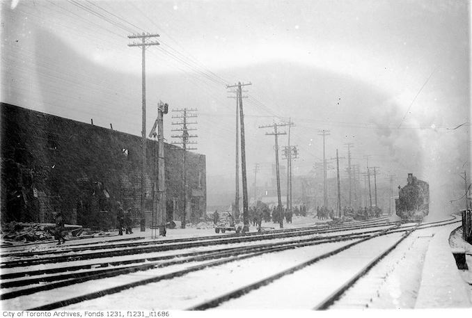 1912 - March 26 - Missing number. T.R. Co. Fire at King Street barn