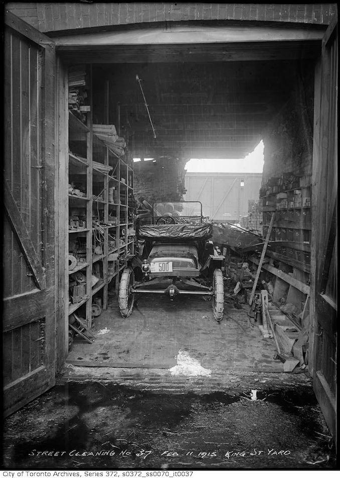 1915 - February 11 - King Street yard