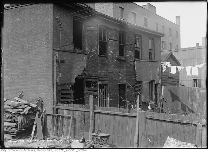 1917 - May 15 - Rear of 234 King Street East