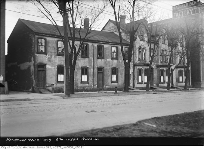 1917 - November 2 - Slum Housing - 650-656 King Street West
