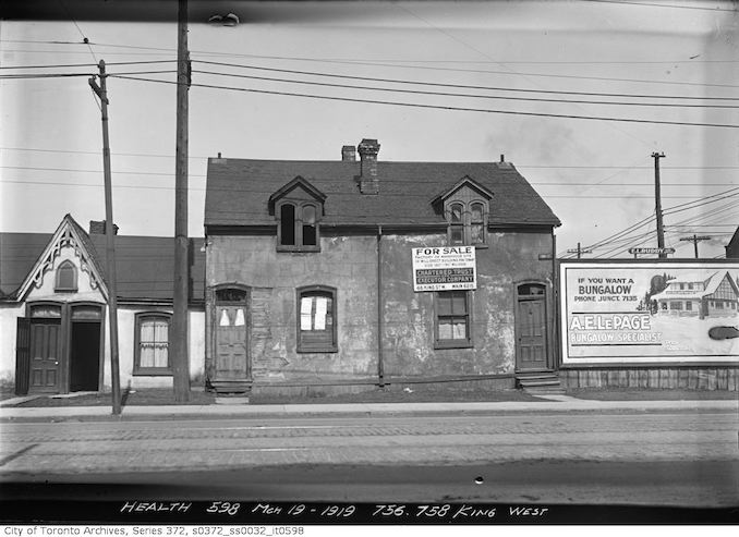 1919 - March 19 - 756-758 King Street West