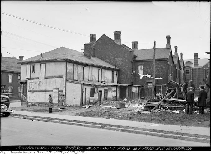 1936 - November 9 - 472-474 King St. & 2 Sumach Street