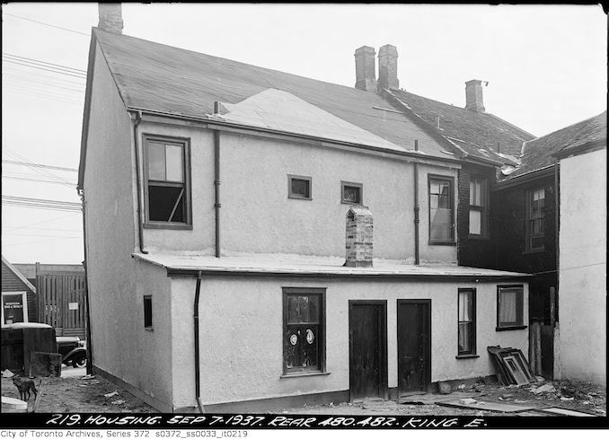 1937 - September 7 - 480, 482 King Street East