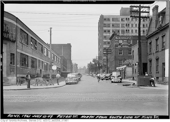 1949 - July 12 - Peter Street north from south side of King Street