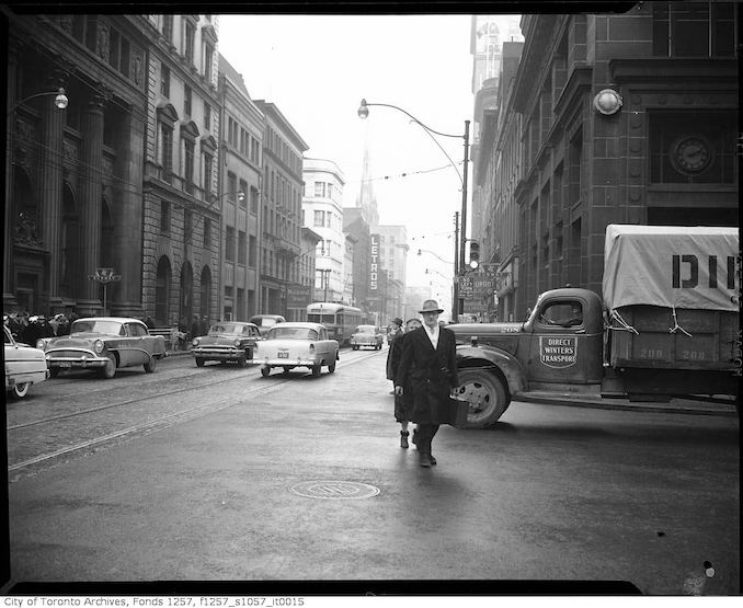 1950? - King Street East nearYonge Street