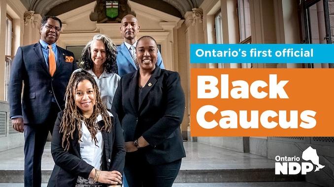 NDP First Black Caucus