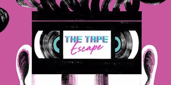 Immersive theatre tape escape