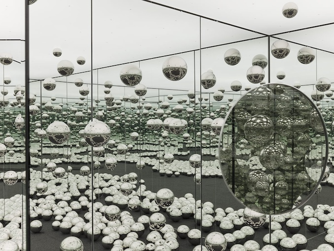 'Let's Survive Forever' infinity mirror by Yayoi Kusama now part of AGO