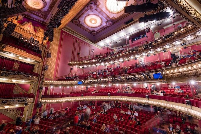 Hamilton theatre in Chicago