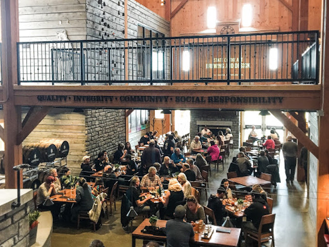 Cowbell Brewery interior