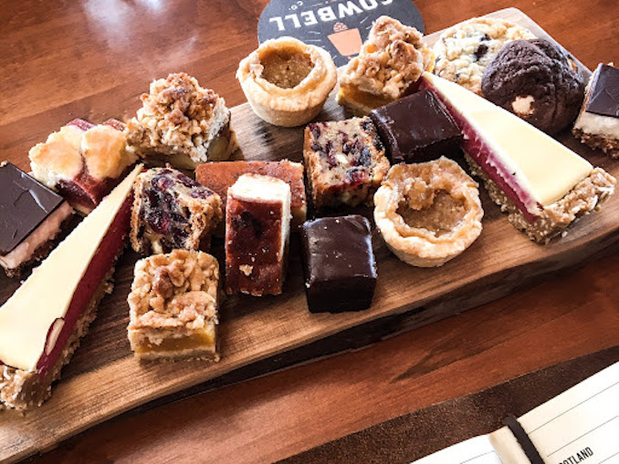 Cowbell Brewery Dessert board