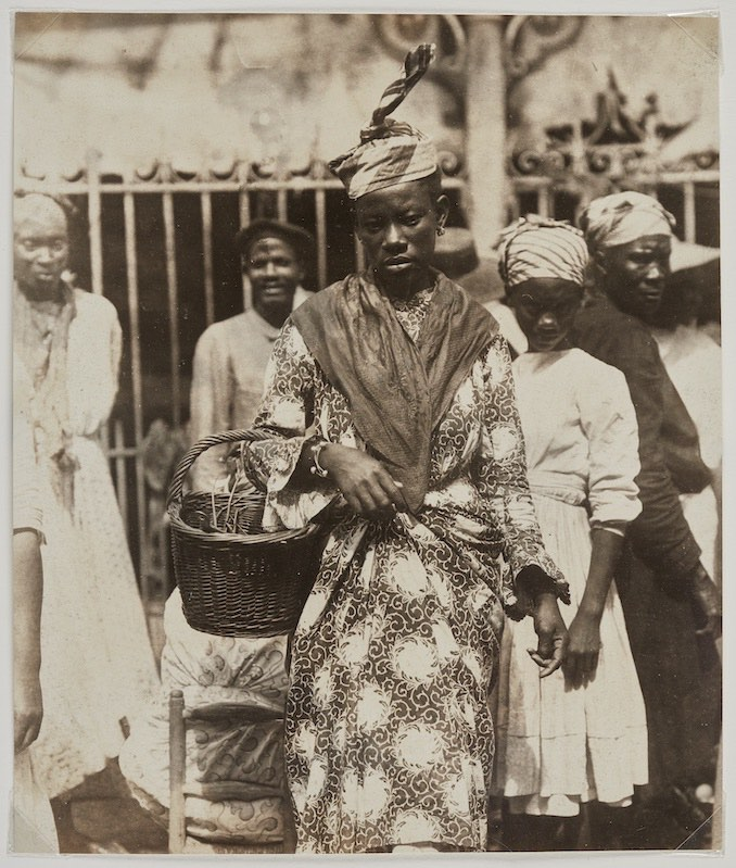 At The Market, Martinique, ca 1895