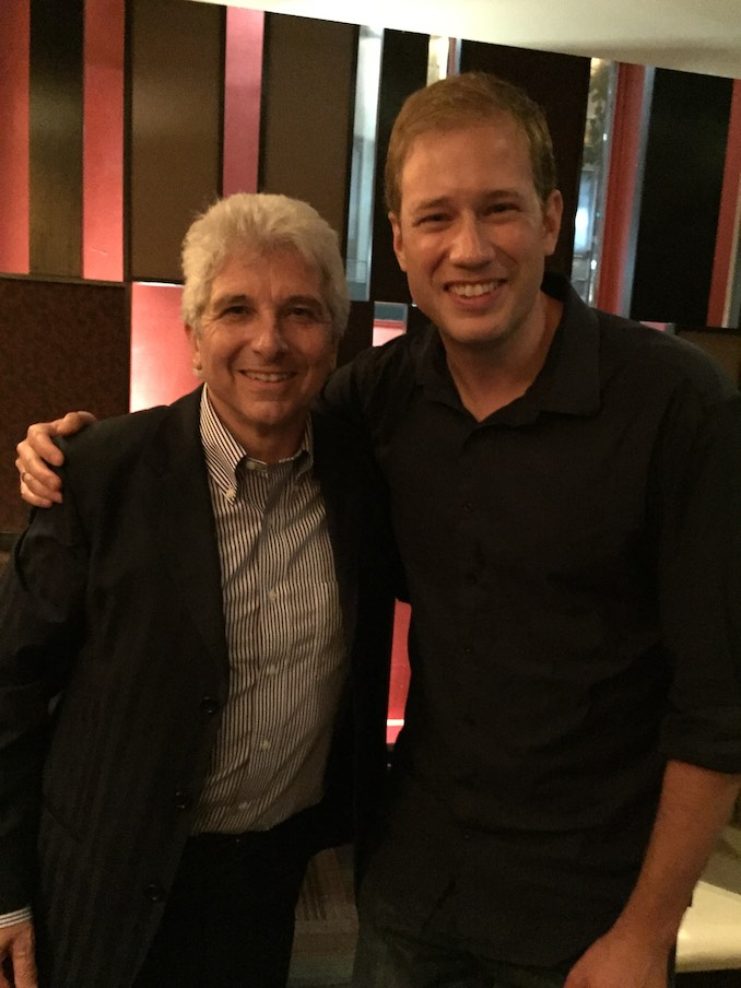 Jonathan Crow Celebrating with former TSO MD Peter Oundjian after his final TSO show