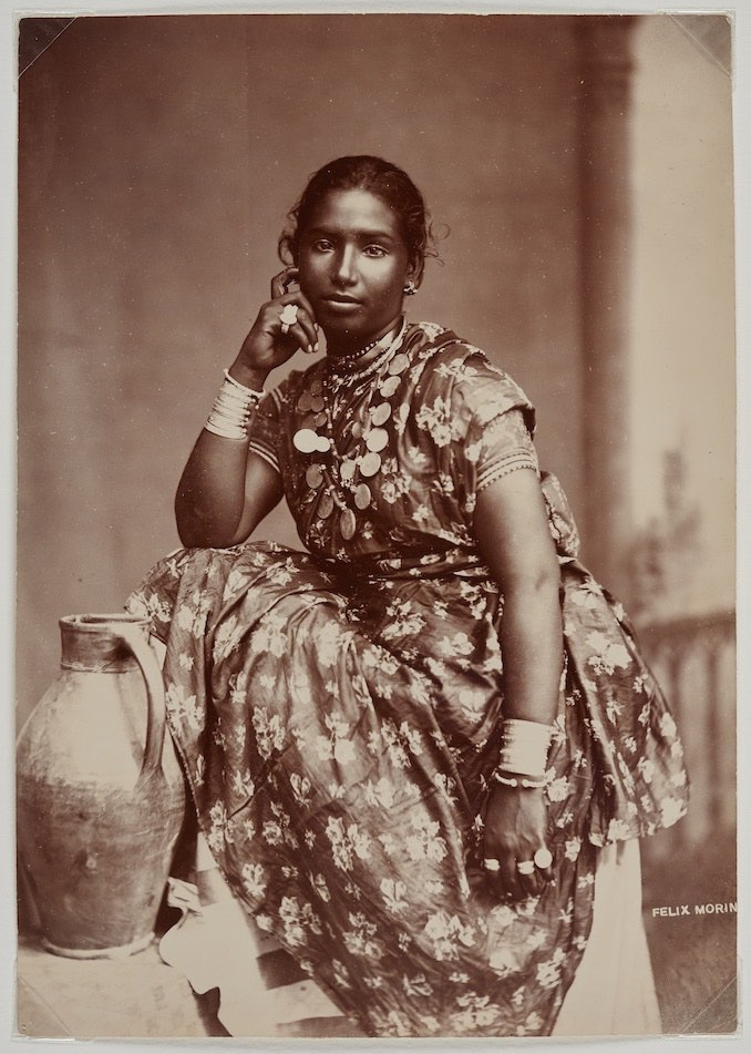 Coolie Woman, Trinidad, ca 1890