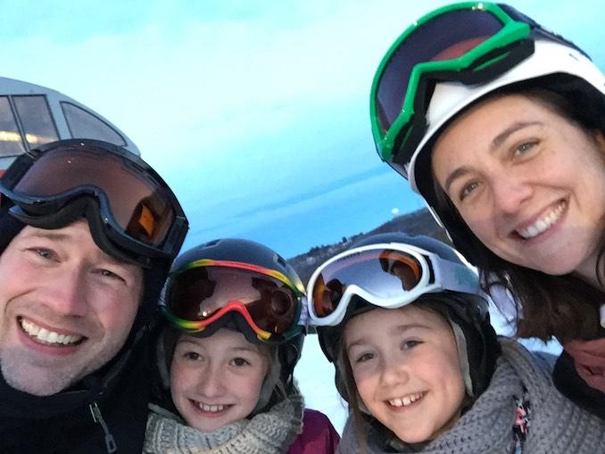 Jonathan Crow Family ski trip