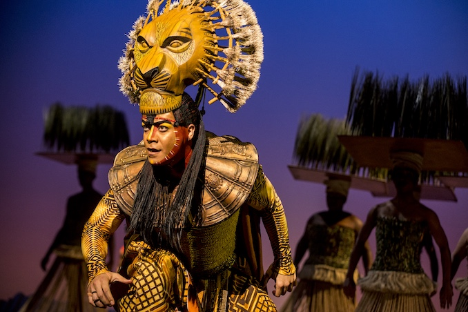 "Gerald Ramsey as ""Mufasa"" in THE LION KING North American Tour. ©Disney. Photo by Matthew Murphy"