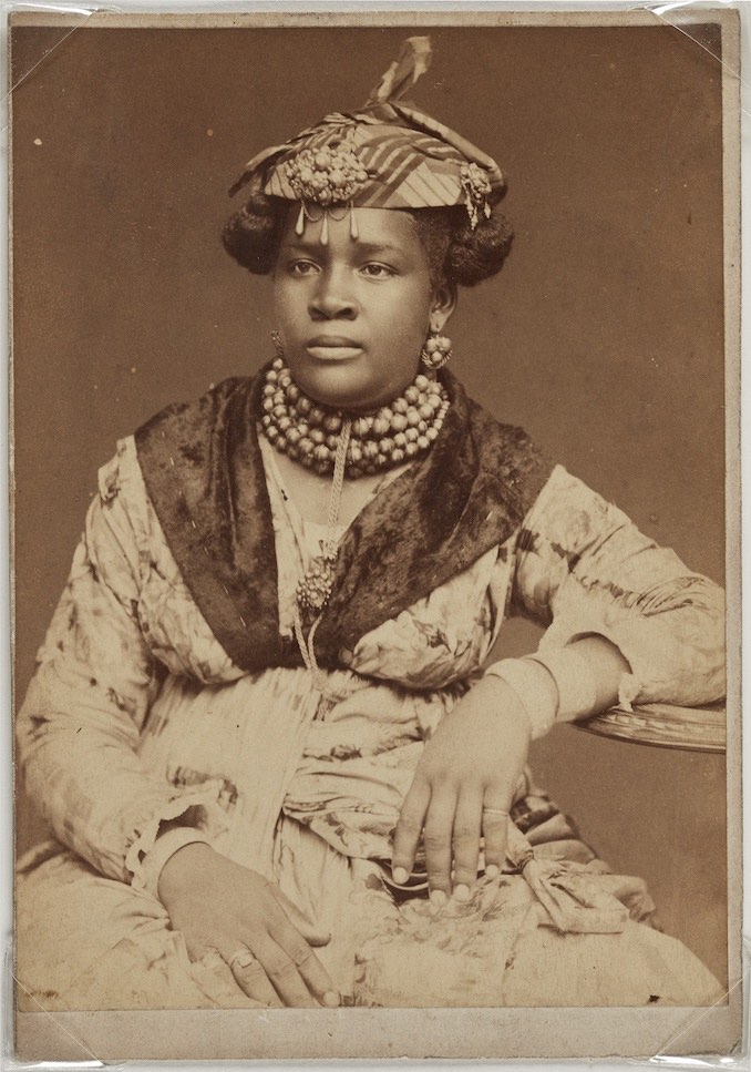 Martinique Woman, ca 1890