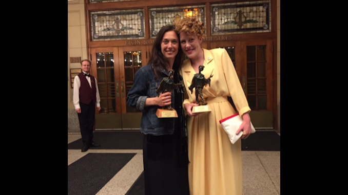 Sharing Doras with the unstoppable Fiona Sauder, aka Peter Pan