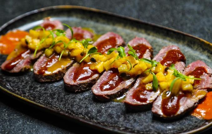 Warm Beef Fillet Tataki Chotto Matte