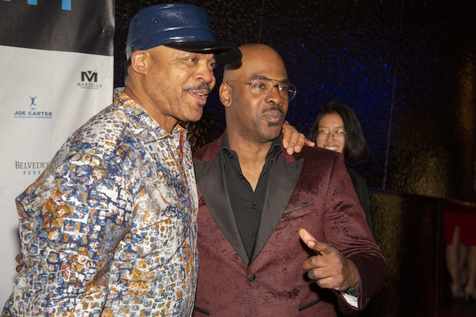 Jesse Barfield and Maestro Fresh Wes