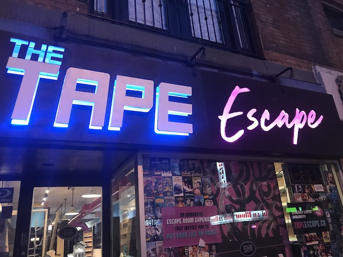 the tape escape queen video toronto