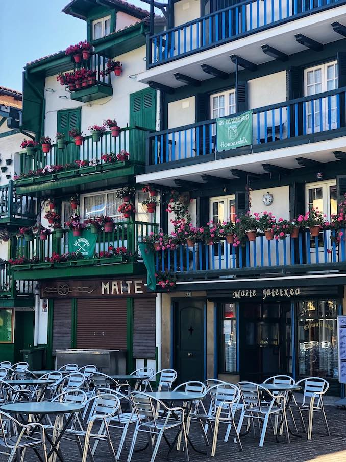 Basque Region Hondarribia