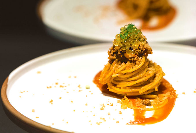 Spaghetti Con Le Sarde from Toronto chef Kshitiz Sethi