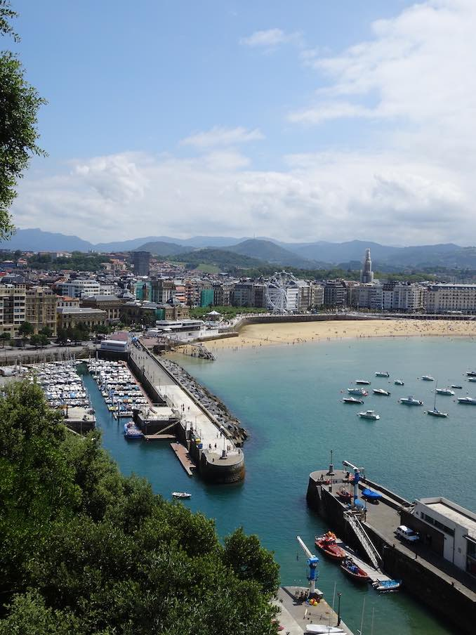 Basque region san sebastian