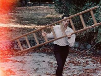 Still from Johnny de Courcy's music video