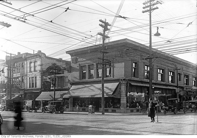 1923 - December 11 - Southwest corner of Yonge and Bloor streets