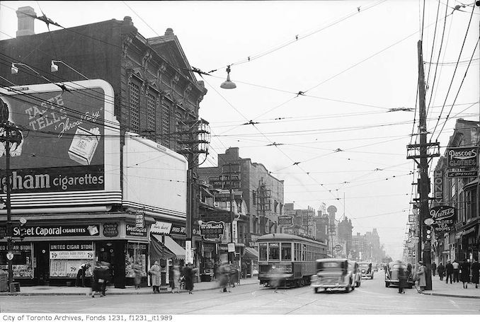 South from Bloor Street