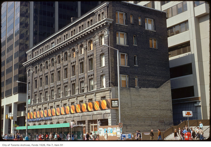 1974 - September 17 - View of the Royal Bank of Canada at Bloor and Yonge Street