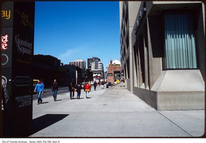 1980 - 1985 - Yonge and Bloor area 4