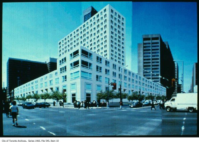 1980 - 1998 - Proposed development on south-west corner of Yonge and Bloor
