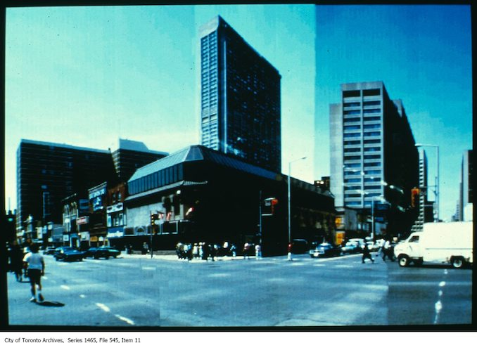 1980 - 1998 - South-west corner of Yonge and Bloor