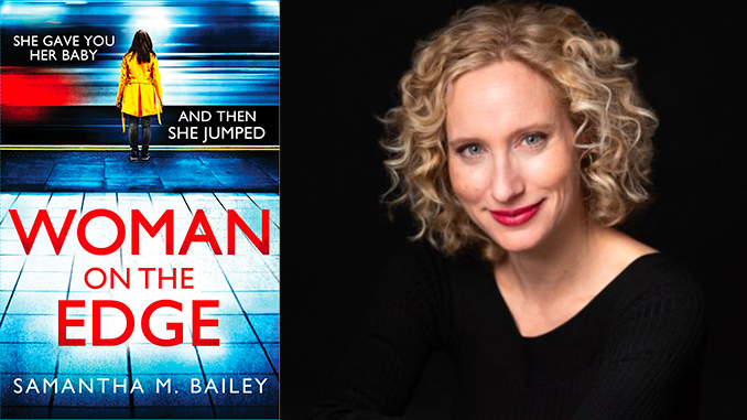 Print Matters: Woman on the Edge by Samantha M. Bailey