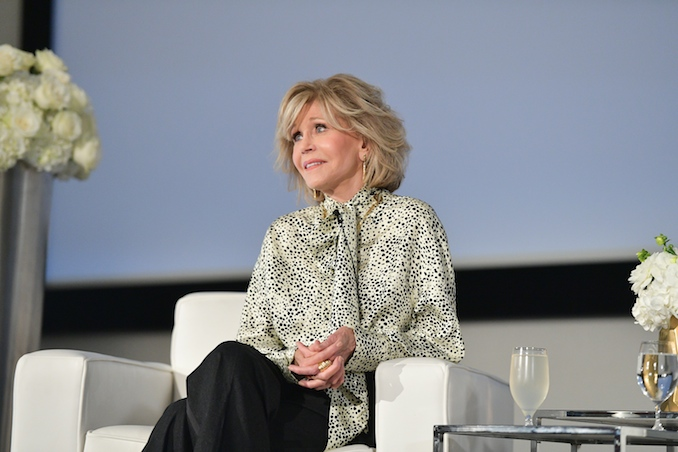 Jane Fonda Gets Candid and Comedic in Toronto for TIFF