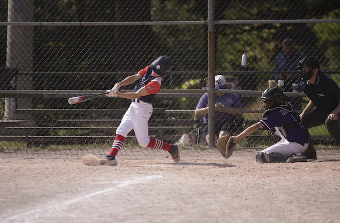 David Brown - When I am not in my studio, I am usually with my son at the ball park. We spend many hours practicing, driving and spending time together. I will always cherish these memories. This is a photo of my son hitting his very first home run - I am sure he will remember this day for the rest of his life.