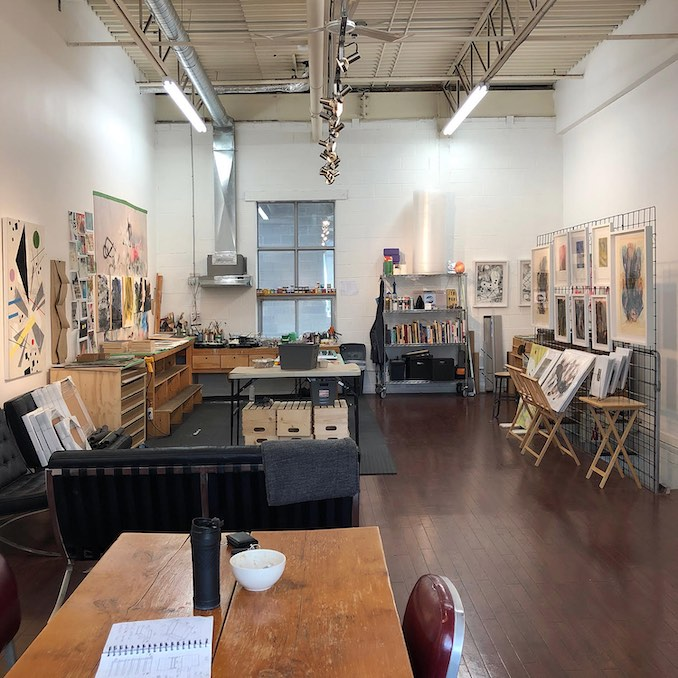 David Brown - I am truly blessed to have an amazing studio.  This space is my sanctuary.  I come here every day to work, think and create.